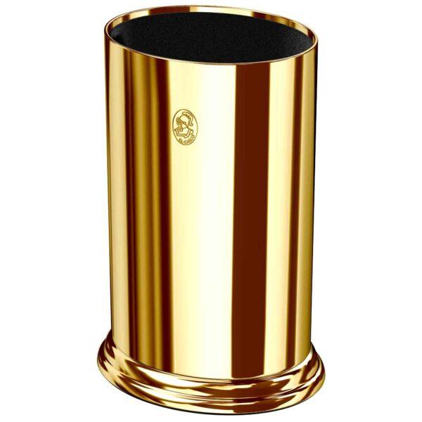 Portagafas de escritorio dorado El Casco