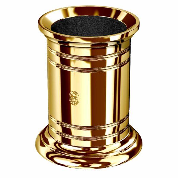 Portalápices clásico dorado El Casco